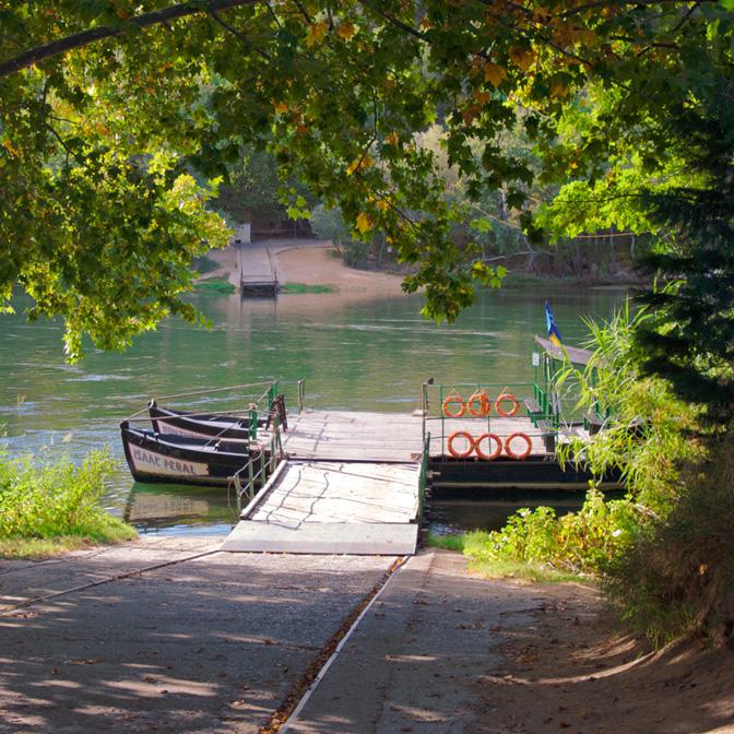 Pas de barca (Miravet)