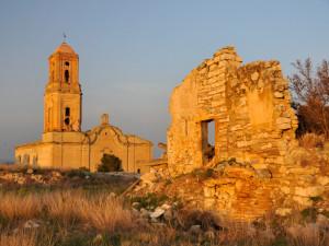 Corbera d'Ebre, poble vell (Batalla de l'Ebre)