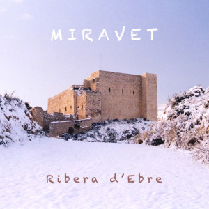 Castell de Miraveet amb neu