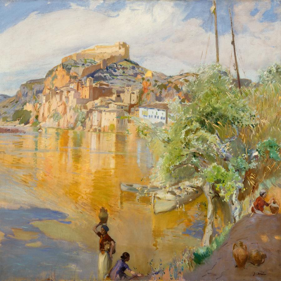 Joaquim Mir - Fantasia de l'Ebre II (Museo Reina Sofia)