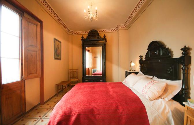 Habitació Comanador (Palau de Miravet, allotjament turístic)