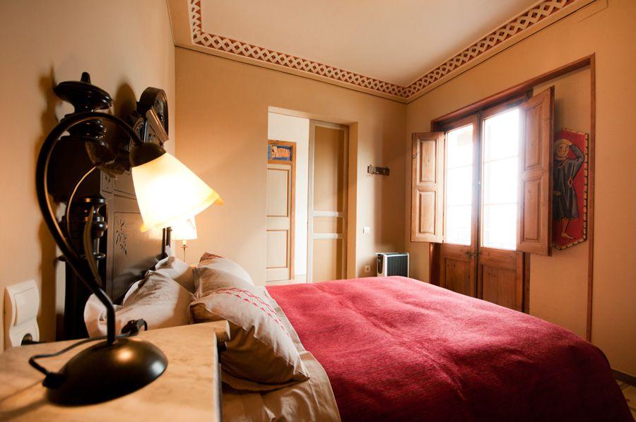 Habitació Comanador, Palau de Miravet (allotjament turístic)